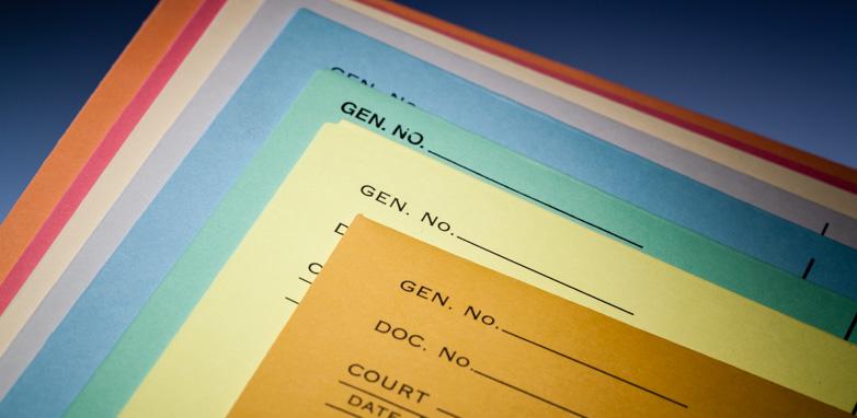 Werner Printing File Jackets