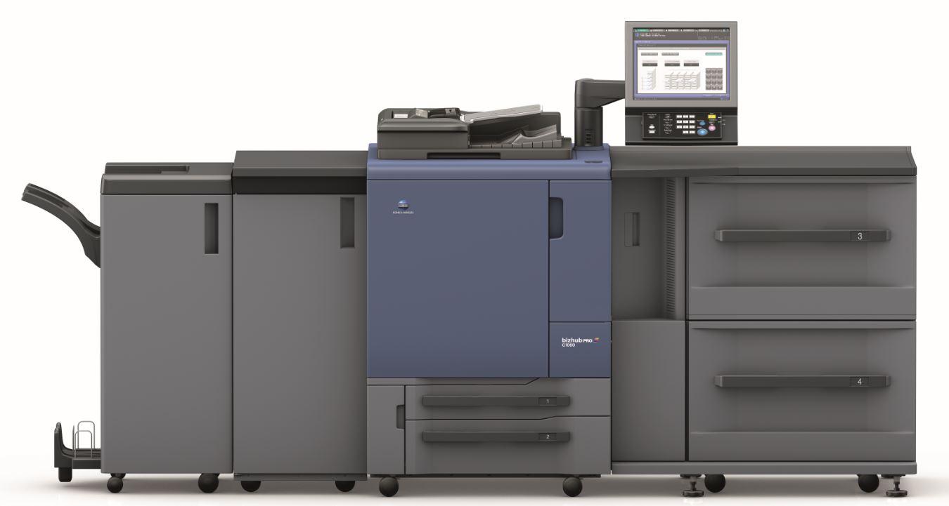 Werner Printing Konica Minolta Bizhub C1070