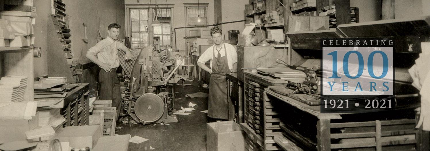 100 years Werner Printing
